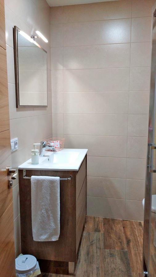 Apartamentos con baño en Galende