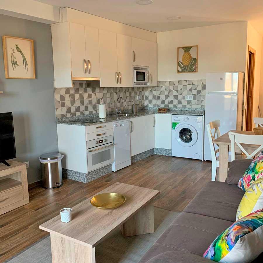 Habitaciones con cocina en Sanabria