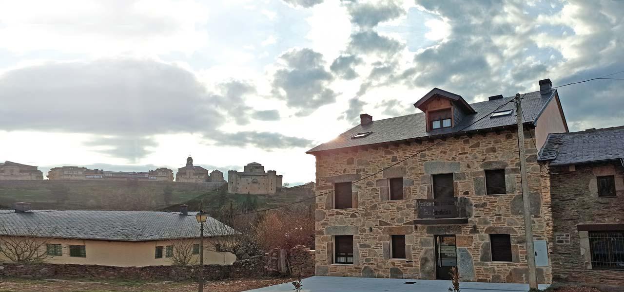 vistas castillo Puebla de Sanabria